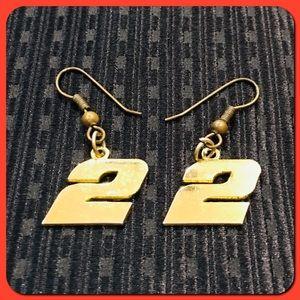 """Earrings in """"#2 / #22"""" on Gold Tone"""